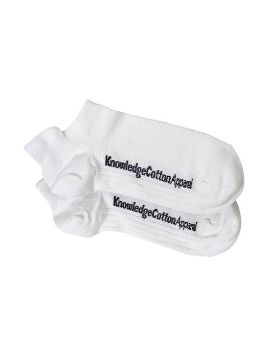 Knowledge Cotton Apparel  Socken  Willow 2 Pack Footies [star white] 43-47 jetzt im Onlineshop von zündstoff bestellen