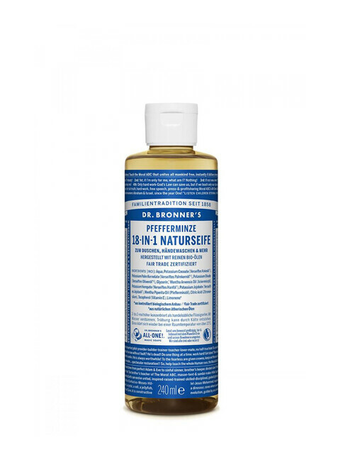 Dr. Bronner's Liquid Soap Pfefferminze 240ml