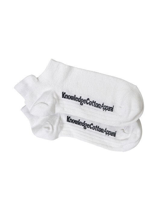 Knowledge Cotton Apparel  Socken  Willow 2 Pack Footies [star white] 43-47 jetzt im Onlineshop von zündstoff bestellen