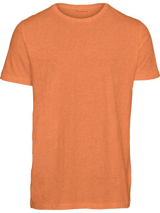 Knowledge Cotton Apparel  T-Shirts Alder Basic Tee [abricut melange] jetzt im Onlineshop von zündstoff bestellen