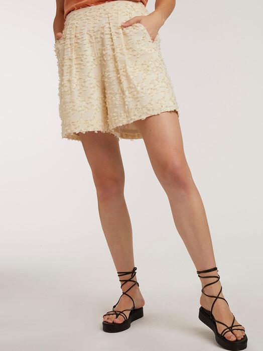 ThokkThokk  Shorts Wide Leg Shorts [cloud cream fringes] jetzt im Onlineshop von zündstoff bestellen