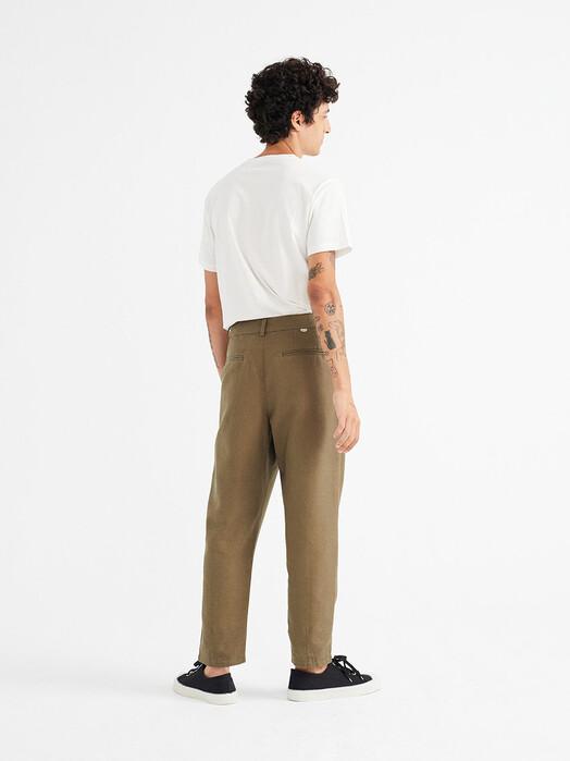 Thinking MU Chinos & Hosen Hemp Moero Pants [olive green] S jetzt im Onlineshop von zündstoff bestellen