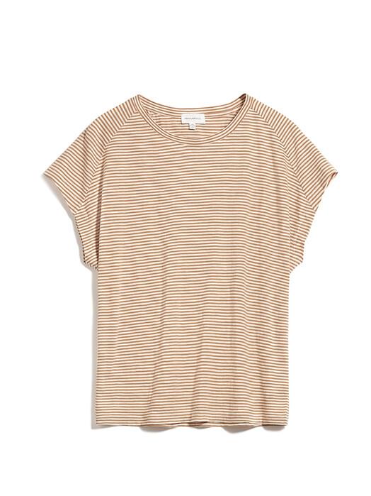 ARMEDANGELS T-Shirts Ofeliaa Pretty Stripes [toasted hazel/oatmilk] jetzt im Onlineshop von zündstoff bestellen