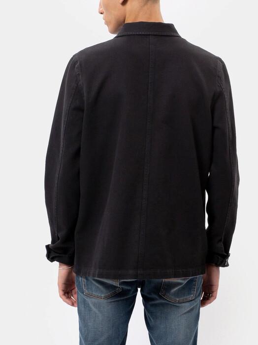 nudie Jeans Jacken & Mäntel Barney Worker Jacket [black] M jetzt im Onlineshop von zündstoff bestellen