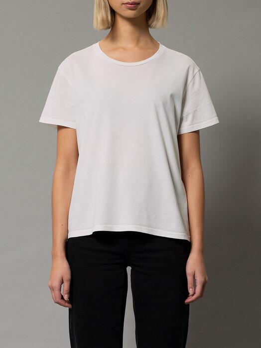 nudie Jeans T-Shirts Lisa Cropped Tee [offwhite] jetzt im Onlineshop von zündstoff bestellen