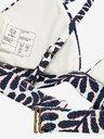 A-dam Underwear Bikinis & Badeanzüge Bikini Top Ava [white/blue/red] jetzt im Onlineshop von zündstoff bestellen