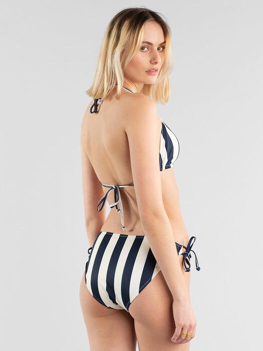 Dedicated Bikinis & Badeanzüge Odda Big Stripes [navy] jetzt im Onlineshop von zündstoff bestellen