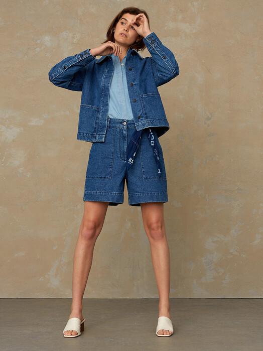 K.O.I. Jeans Shorts Bangja [mid marble] jetzt im Onlineshop von zündstoff bestellen