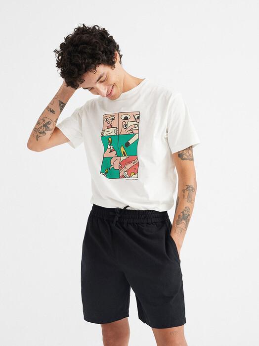 Thinking MU T-Shirts Flying Free T-Shirt [snow white] jetzt im Onlineshop von zündstoff bestellen