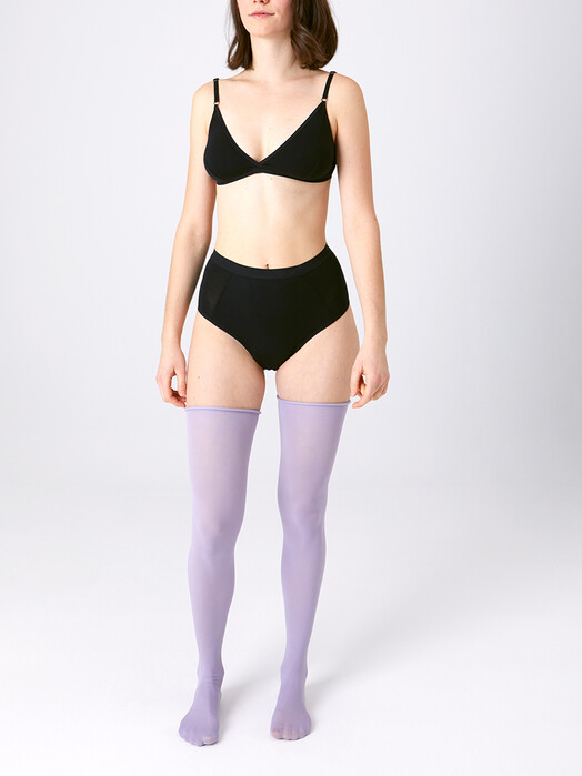 Kora Mikino Unterwäsche  High Waist Slip Hilde [black] jetzt im Onlineshop von zündstoff bestellen