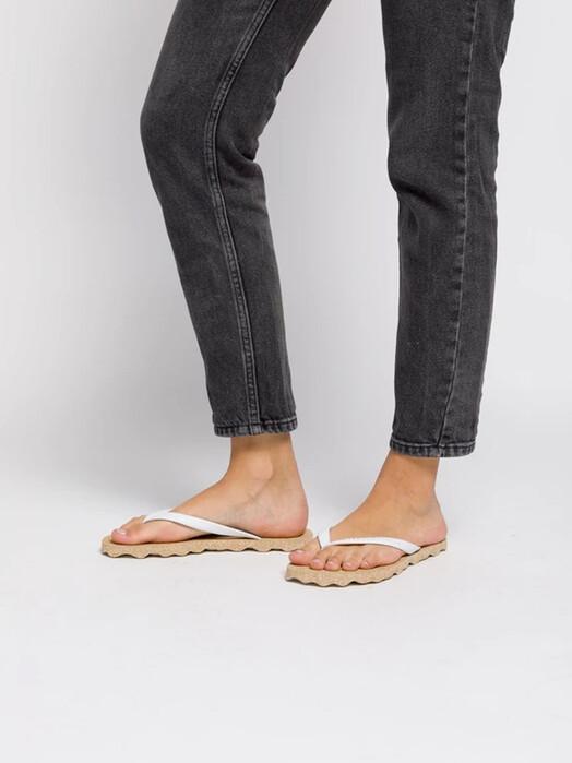 Asportuguesas Base Flip Flop [brown/white]