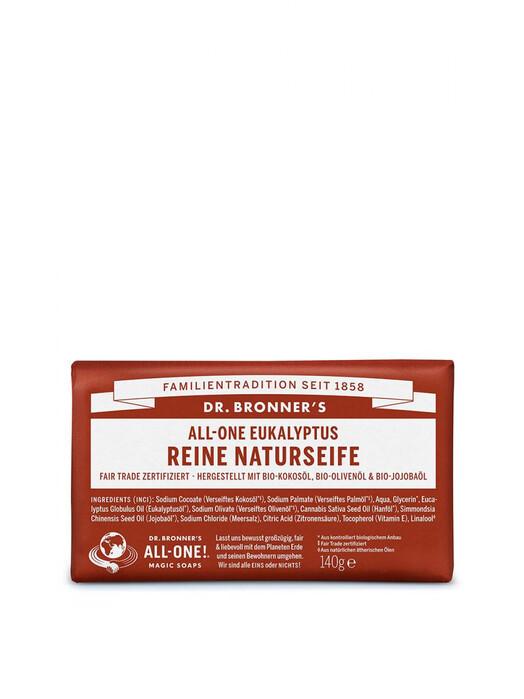 Dr. Bronner's Kosmetik Barsoap Eukalyptus jetzt im Onlineshop von zündstoff bestellen