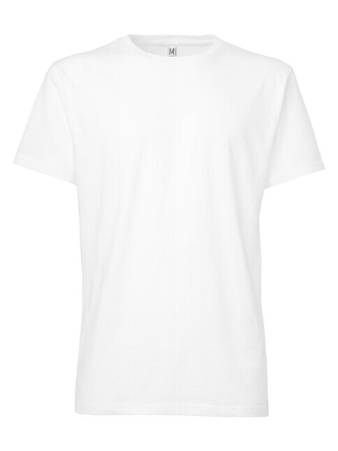 ThokkThokk  Men's Blank T-Shirt [white]