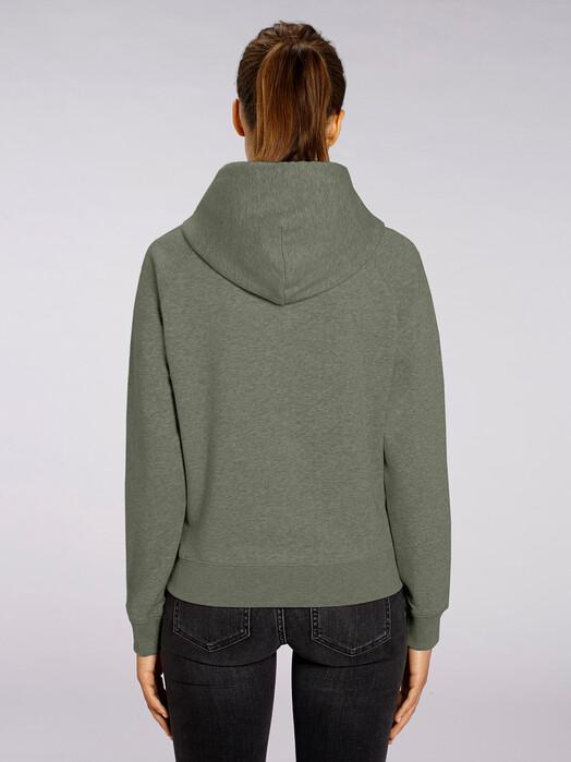 zündstoff.basics Hoodies Tilda [diverse Farben] XS, mid heather khaki jetzt im Onlineshop von zündstoff bestellen