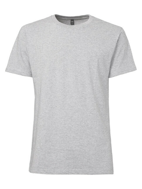 ThokkThokk  Men's Blank T-Shirt [melange grey]