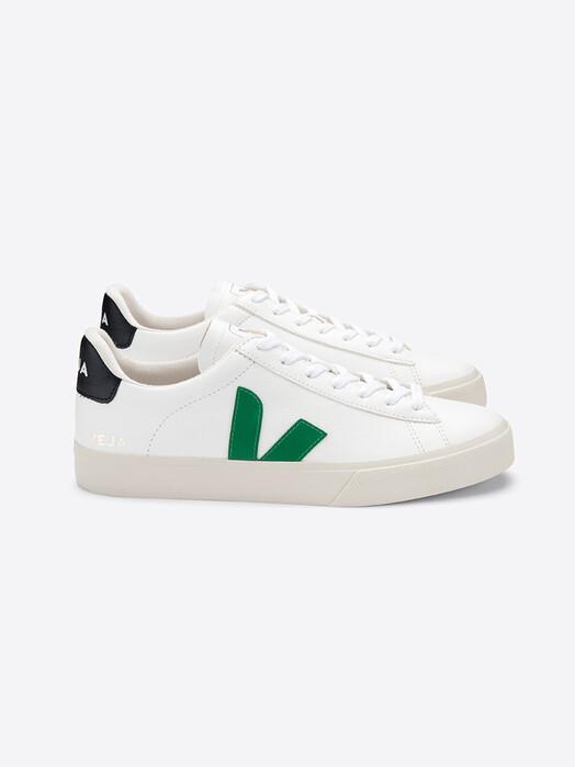 Veja Schuhe Campo CF [extra-white emeraude black] jetzt im Onlineshop von zündstoff bestellen