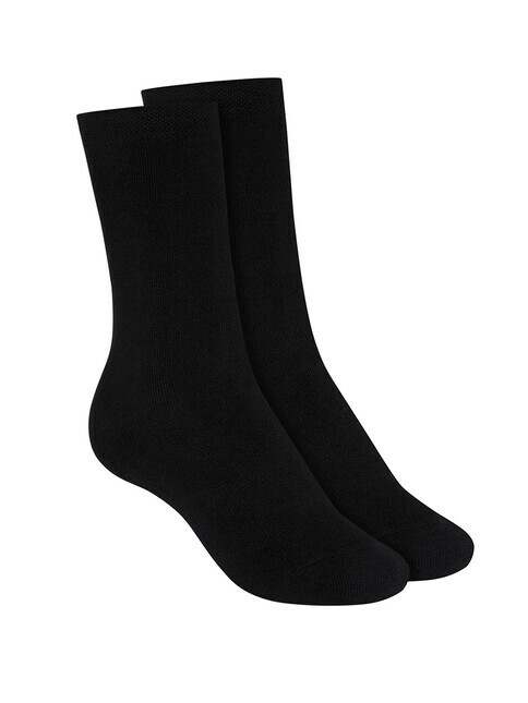 ThokkThokk  2-Pack Terry High Socks [black]