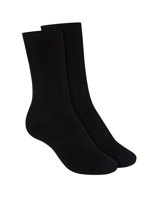 Socken  - 2-Pack Terry High Socks [black] 1