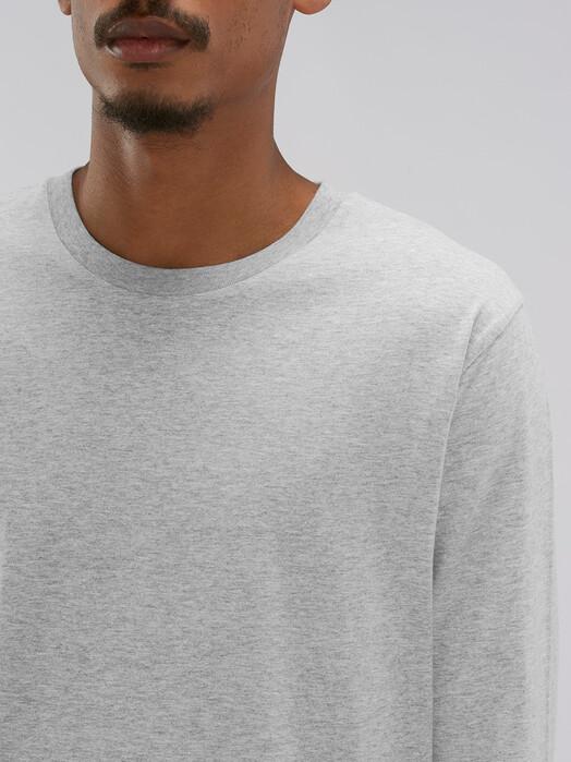 zündstoff.basics Longsleeves Samson [diverse Farben] S, heather grey jetzt im Onlineshop von zündstoff bestellen