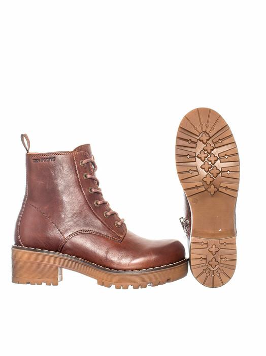 Ten Points Schuhe  Clarisse Laced [chocolate] jetzt im Onlineshop von zündstoff bestellen