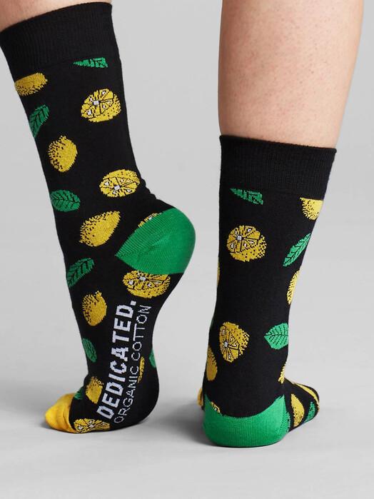 Dedicated Socken  Sigtuna Lemons [black] 41-45 jetzt im Onlineshop von zündstoff bestellen