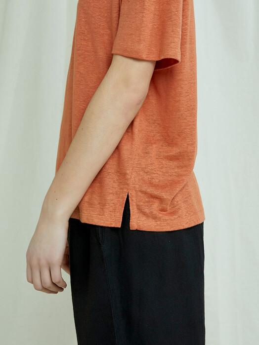 People Tree  T-Shirts Harini Linen Top [hazel] jetzt im Onlineshop von zündstoff bestellen