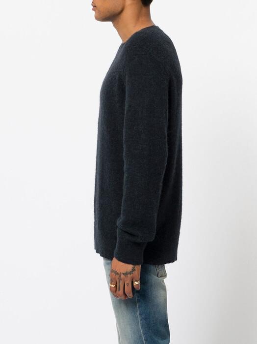 Strickpullover - Hampus Solid Sweater [black] 3